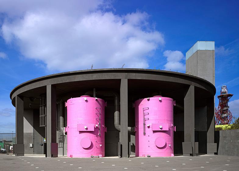 Pudding Mill Lane pumping station by John Lyall Architects