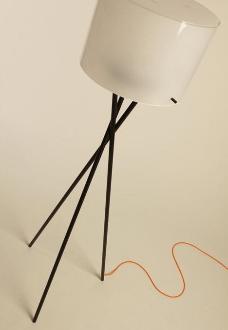 Orbit lamps by Raymond Paulson at New Designers