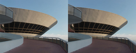 Oscar Niemeyer in 3D by Vicente Depaulo