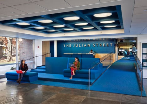 Princeton University Julian Street Library by Joel Sanders