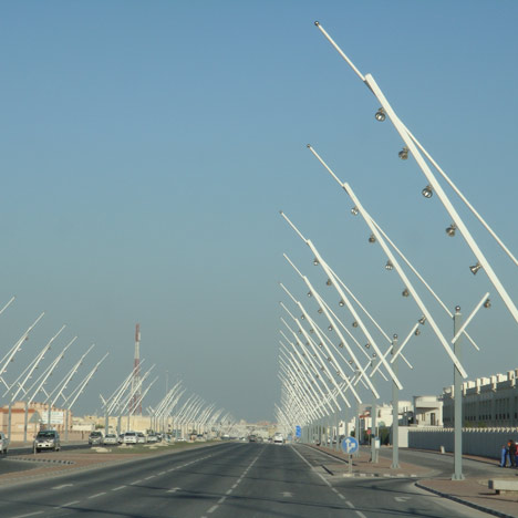 "Qatar accused of ""counterfeiting 1000 street lamps"""
