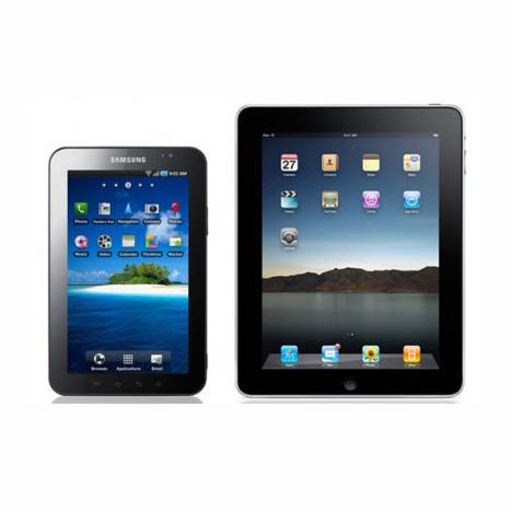 """Samsung galaxy tab """"not as cool"""" as Apple iPad"""