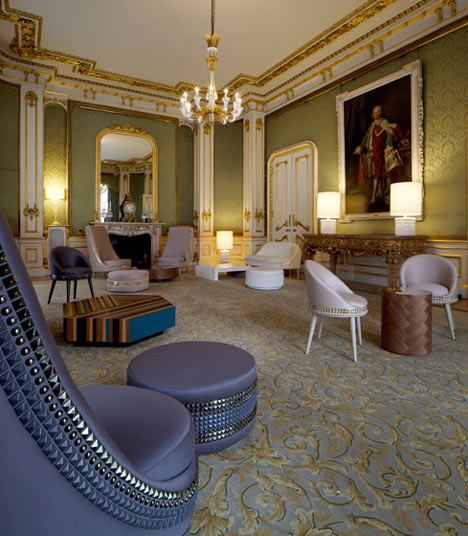 The Gold Room by Lee Broom at Lancaster House