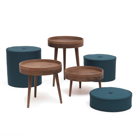 The Royal Family Stools by Ellen Heilmann