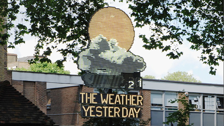 The Weather Yesterday by Troika
