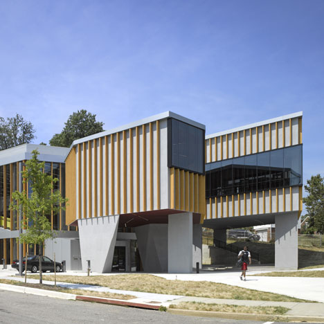The William O. Lockridge/Bellevue Library by Adjaye Associates