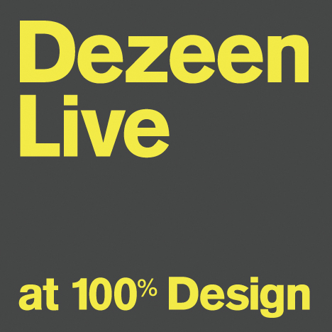 Dezeen Live at 100% Design