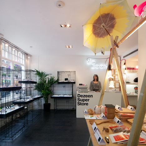 Dezeen Super Store featured on Deutsche Welle