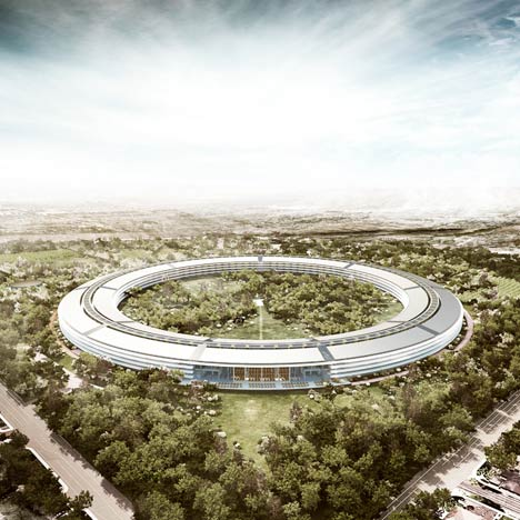 Apple Campus by Foster Partners