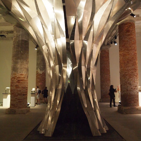 Arum by Zaha Hadid Architects at Venice Architecture Biennale 2012