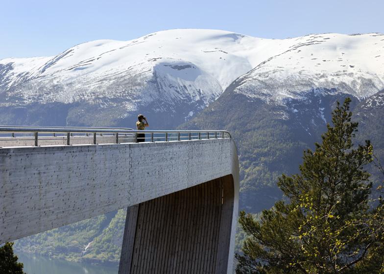 Stegastein Viewing Platform by Todd Saunders and Tommie Wilhelmsen