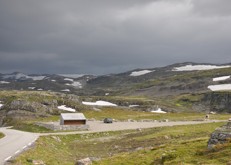 Flotane Rest Stop by Lars Berge