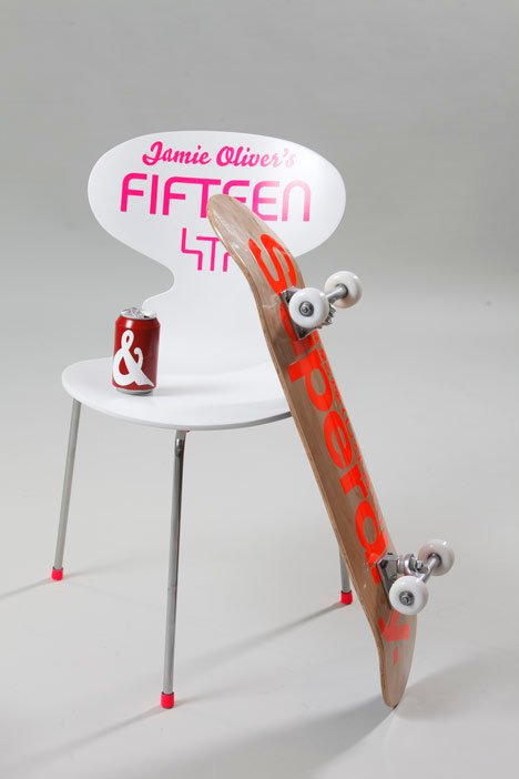 BIG Chair Project for the Jamie Oliver Foundation