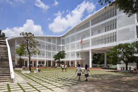 Binh Duong School by Vo Trong Nghia
