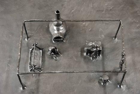 Blastfurnace at Carpenters Workshop Gallery by Atelier Van Lieshout