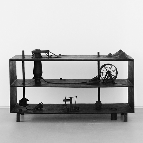 Blastfurnace at Carpenters Workshop Gallery by Atelier Van Lieshout