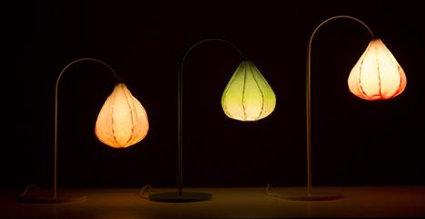 Bloom lamps by Kristine Five Melvær
