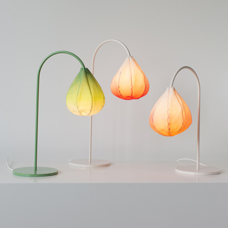 Bloom lamps by Kristine Five Melvær
