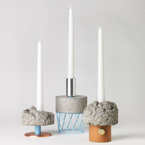 Crowd Candlesticks by David Taylor