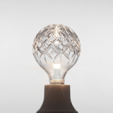 Crystal Bulb by Lee Broom at Dezeen Super Store
