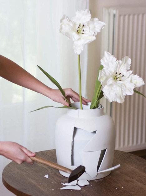 Curious Vase by Mianne de Vries