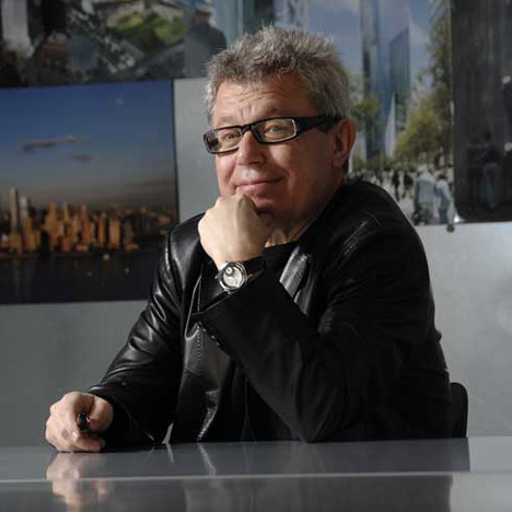 """Daniel Libeskind selected for Maze prison site"" - BBC"