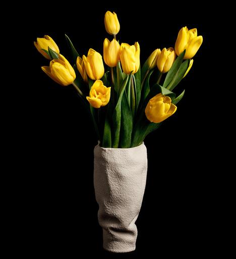 Drapery Vases by Kruskopf and Kuisma