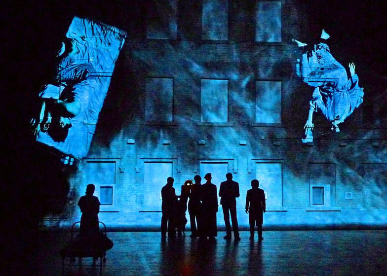 The Master and Margarita, Complicite, Barbican theatre, 2012