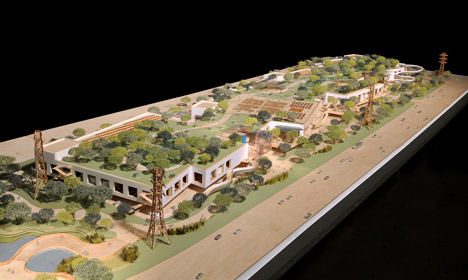 Frank Gehry designs new Facebook headquarters