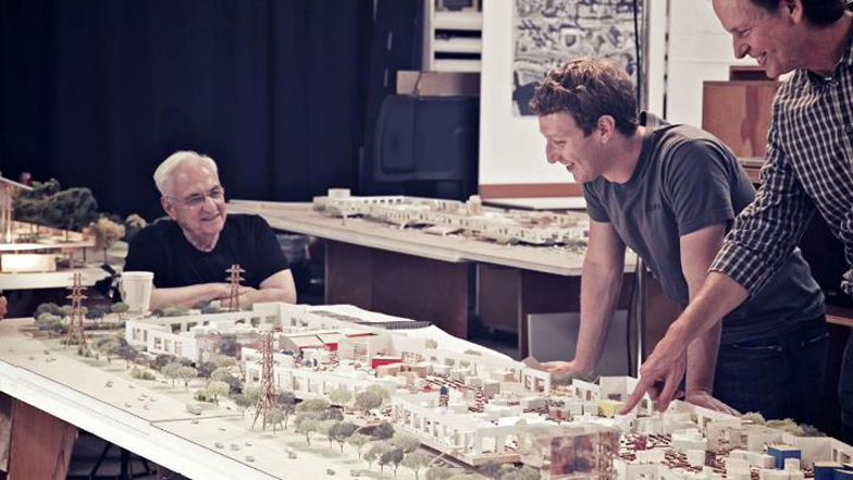 Frank Gehry to design new Facebook headquarters