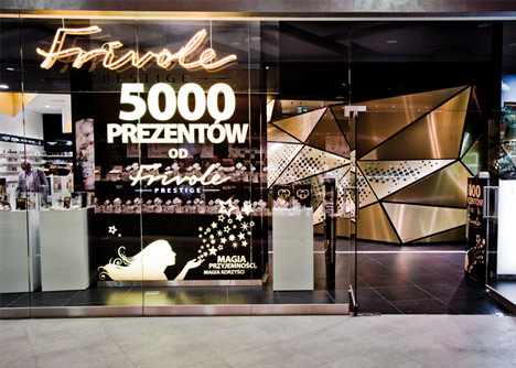 Frivole Prestige perfumery by Theza