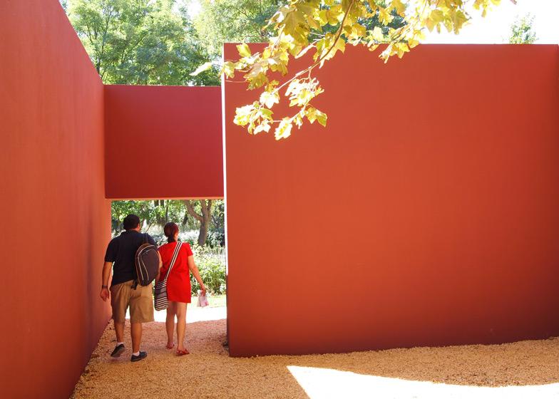 Installation by Álvaro Siza