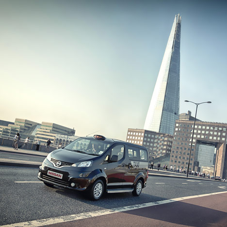 NV200 London Taxi by Nissan