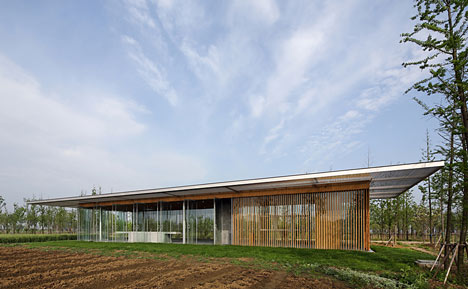Harvest Pavilion by Vector Architects