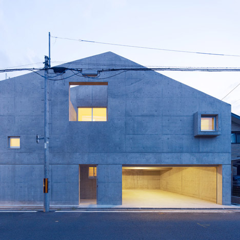 House in Kitaoji by Torafu Architects