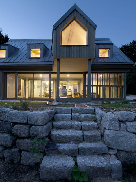 House on the Marsh by A1Architects