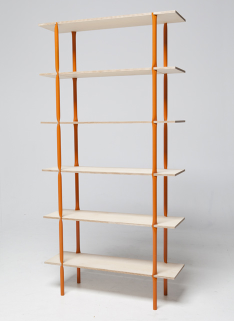 In a Pinch shelving system by Arttu Kuisma