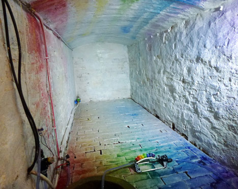 Liquid Rainbow by Edwin Deen