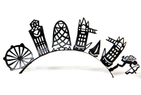 London Lashes by Paperself at Dezeen Super Store