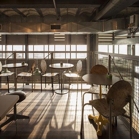 Loveat Jaffa Cafe By Studio Ronen Levin And Eran Chehanowitz