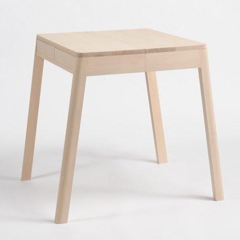 Lovebird tables by Yuki Matsumoto