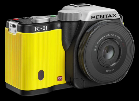 Marc Newson camera for Pentax