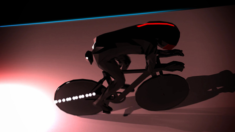 Movie Velodrome animation by Crystal CG