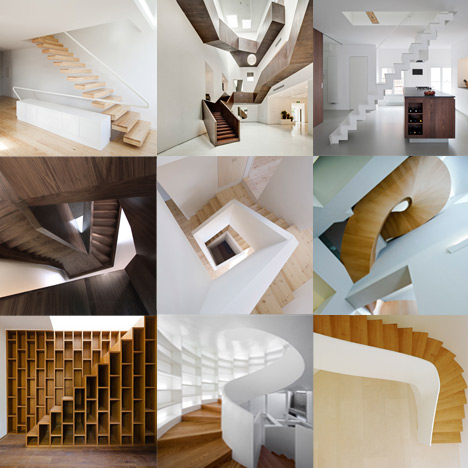New Pinterest board: staircases