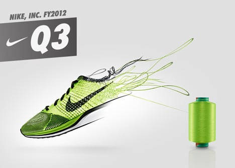 Nike Flyknit running shoes
