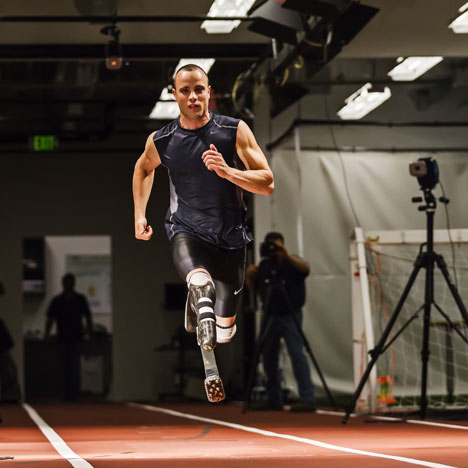 Paralympic design: Nike Spike Pad for Oscar Pistorius