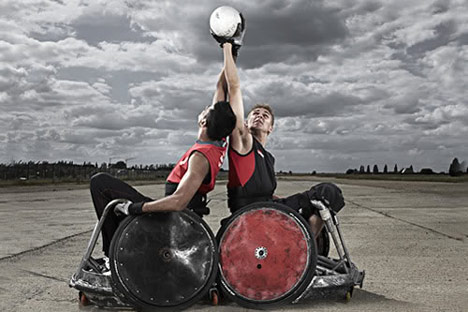 Paralympic design: wheelchair rugby