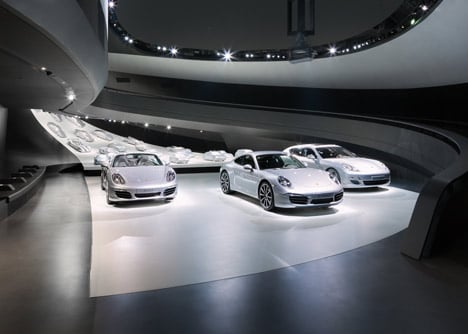 Porsche Pavillon by HENN