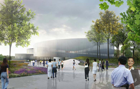 Samaranch Memorial Museum by HAO and Archiland Beijing