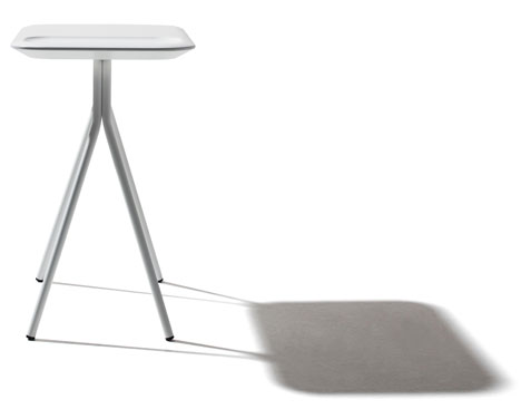 Scallop table by Samuel Wilkinson for Versus